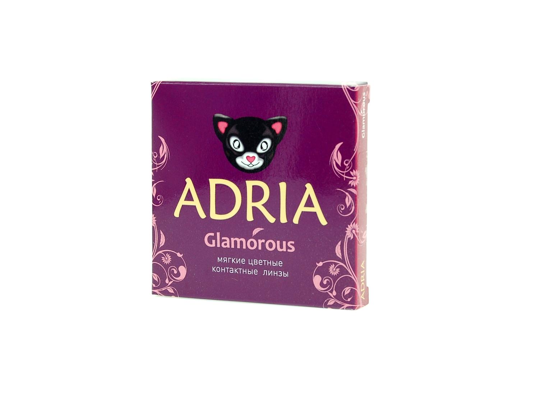Adria Glamoros это гидрогелевые, цветные контактные линзы на квартал 2 шт в упаковке по невероятно дешовым ценам в Чебоксарах.