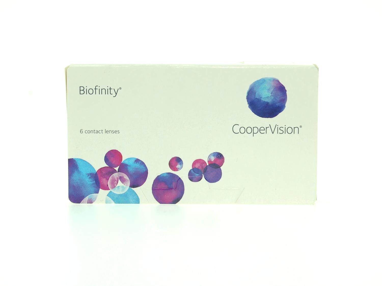 Контактные линзы Биофинити Biofinity 6 линз в упаковке.
